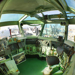 View from the flight deck control room