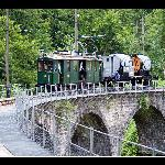 Museumsbahn Blonay Chamby Foto