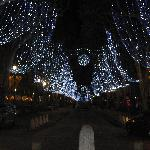 Cours Mirabeau at Christmas