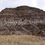 Layers in the badlands