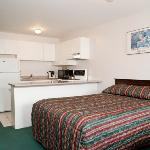 Guest Room - 1 King -with Kitchenette-