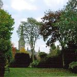  Cathedral from garden of Arundell House