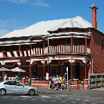 The Queenscliff Inn from the main street.