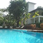 The Swimming pool and Villa Jardim