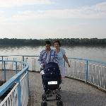 My family with Danube