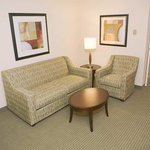 Hilton Garden Inn Beaumont Hotel Suite with Sofabed