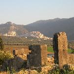 Moulay Idriss from Volubilis