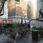  Entrance to the small Herald Square