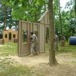 Laser Tag: Outdoor field complete with obstacles to hide behind as you battle with your friends