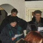  Carol singing and fund raising 22/12/2011