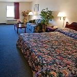 GAAmbassador Inn Suites Jeffersonville Bed
