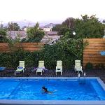  piscina do hotel los andes