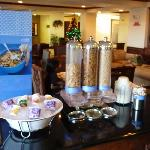  Hampton Inn Breakfast Cold Buffet