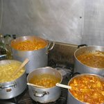 Curry night is very popular and there is always a curry of the day on the menu.