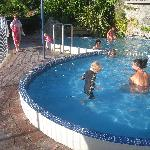  pool heated to 34 degree&#39;s (although felt more like 39!)
