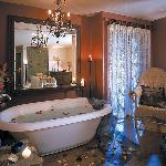 Soak in our amazing baths before or after any treament.