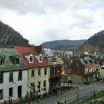  View from the Shenandoah Room of The Town&#39;s Inn, Harper&#39;s Ferry, WV, January 2012