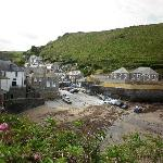 The beach at Port Isaac