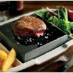 Steak on The Hot Rock, Our Signature!!!