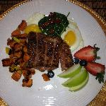  One of Chef Ashley&#39;s great breakfasts!