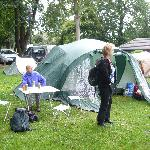 Abbey Wood Caravan Club Site resmi