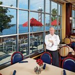 Chef Michael Cerrie at the Bayfront Grille