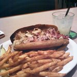 Rueben Sandwich with Fries