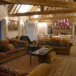 The huge lounge in Henchard