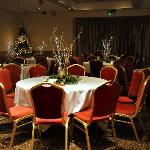 THE TABLES IN THE FUNCTION ROOM
