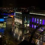  Sheffield Theatre Square at night
