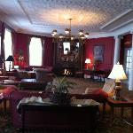  upstairs sitting room at The Perry