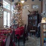 the other side of the breakfast area with the Christmas tree :)