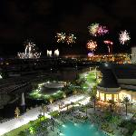 This suite has a view of Disney's many fireworks shows.