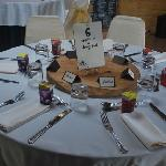 one table at our wedding