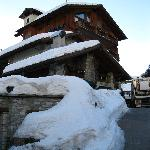  Hotel Walser with steep driveway