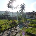  The garden of Indah Homestay