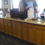  our breafast area
