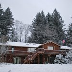 The B&B in the snow