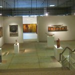 The bigger gallery space