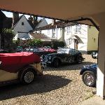  The Abbey Hotel off road car park provides access to our Medieval and Georgian annexes