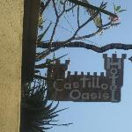 Sign Marking the Entrance
