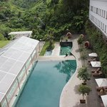 swimming pool (from above)