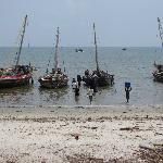  The Bagamoyo harbour