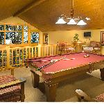 All Old Greenwood Cabins Have Pool Tables.