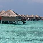 The Bungalows Over the Lagoon