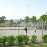  Astrograss outdoor all weather surface tennis court, racquets and balls available for hire