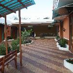 Main courtyard in Blue Marlin