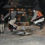 Gural dancing and games arranged by hotel