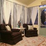 Relax on Arbor Cottage's Screen Porch