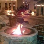 The new fire pit!